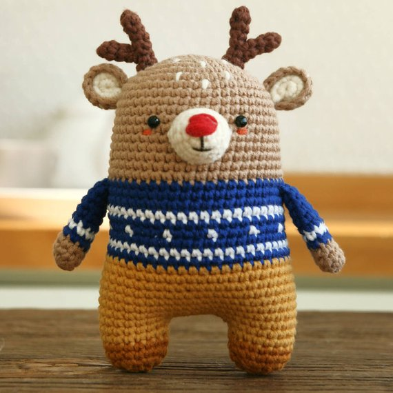 Crochet pattern-deer