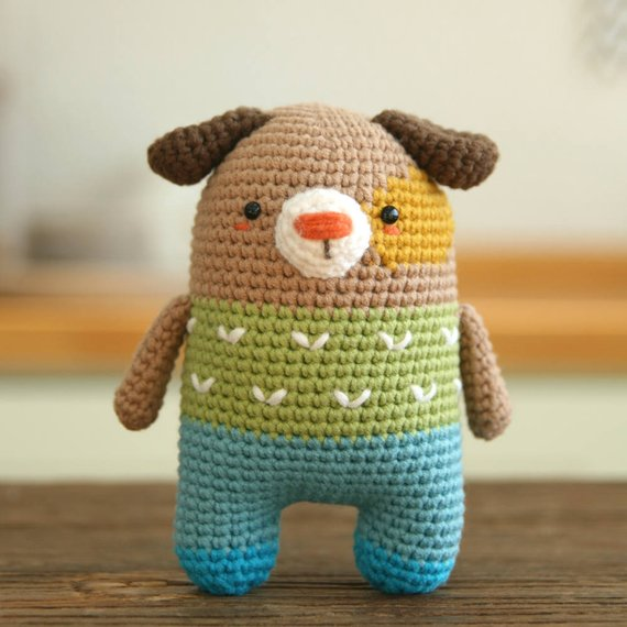 Crochet pattern-dog