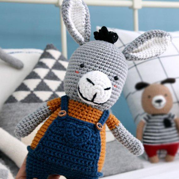 Crochet pattern-Donkiki is donkey