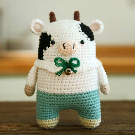 Crochet pattern-milk cow