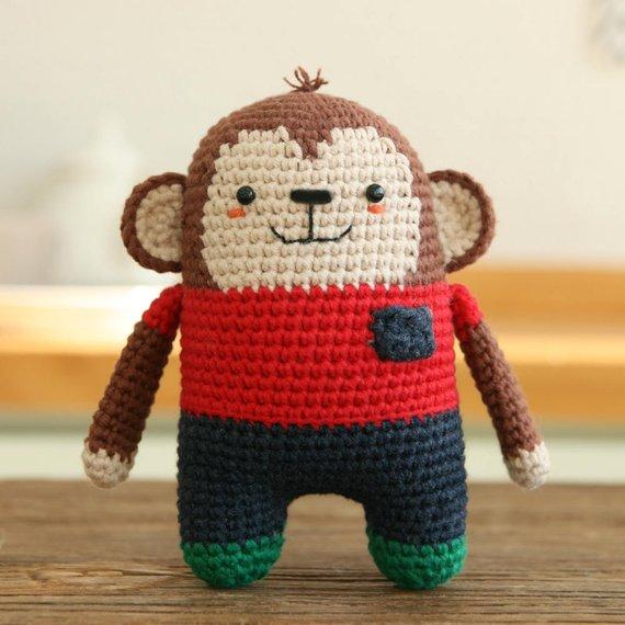 Crochet pattern-monkey