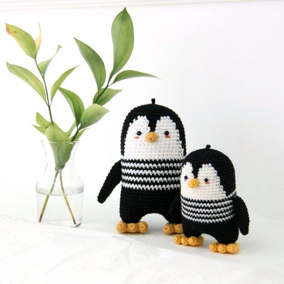 Crochet pattern-penguin