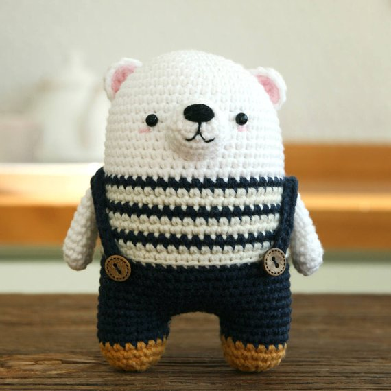 Crochet pattern-polar bear