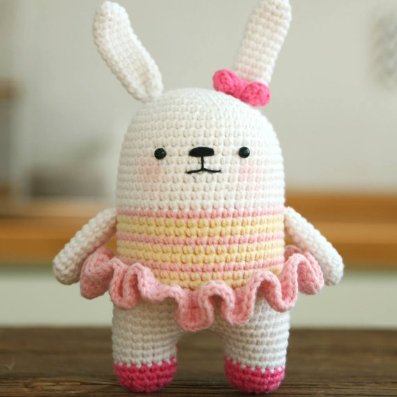 Crochet pattern-rabbit