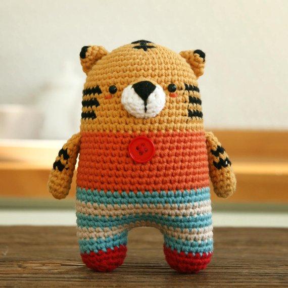 Crochet pattern-tiger