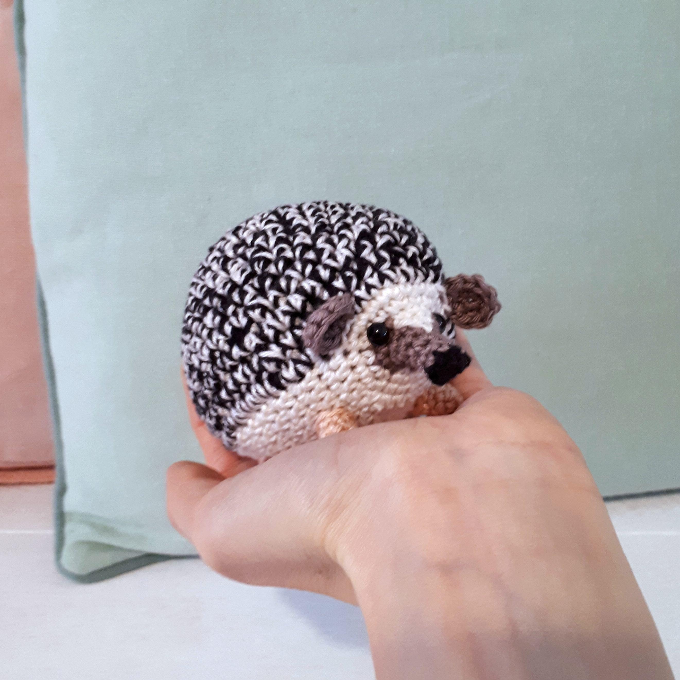 Amigurumi hedgehog pattern,