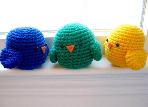 Basic Bird Crochet Pattern