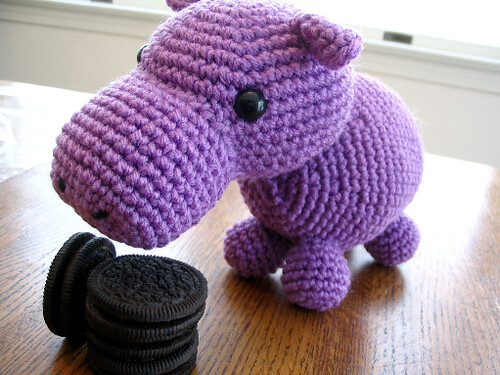 Hungry Hippo Crochet Pattern