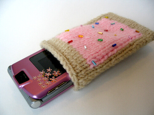 Pop Tart Cell Phone Pocket