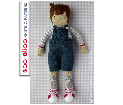 Ralph - boy doll toy knitting pattern