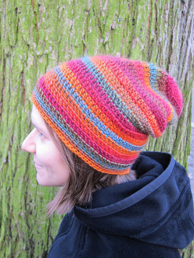 One basic hat pattern, four styles, many Xmas gifts!