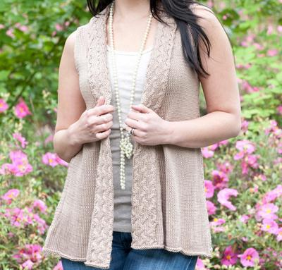 Amalfi Shawl Vest Kit