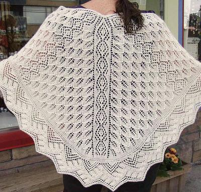 Harbour Lights Shawl Kit