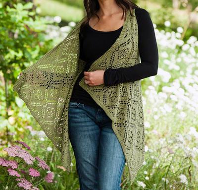 Rose Trellis Lace Vest Kit