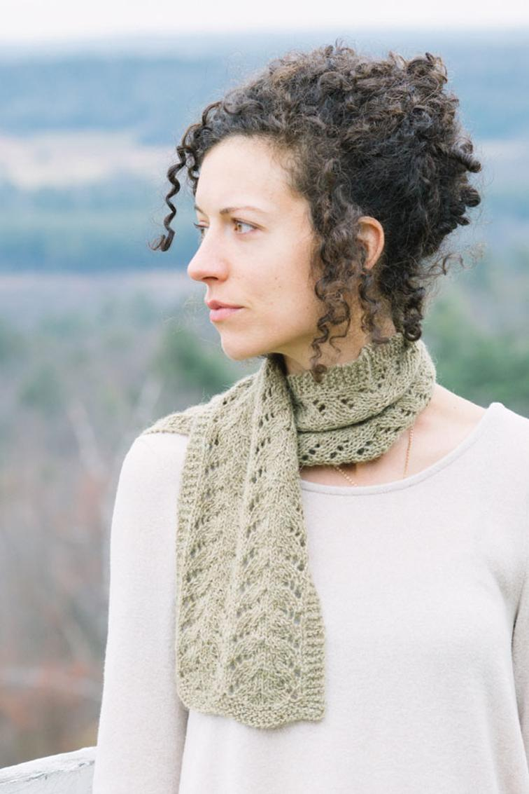 Lucky Jade Lace Scarf