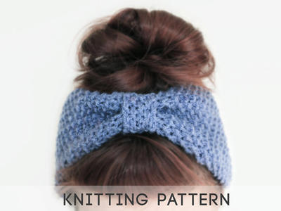 Girls Blue Headband