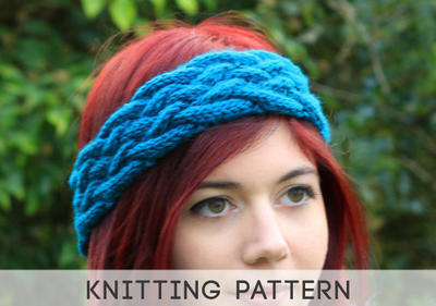 Knit Earwarmer Pattern