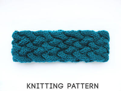 Knit Headwrap Pattern