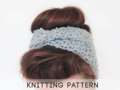 PDF Knitting Pattern Headband