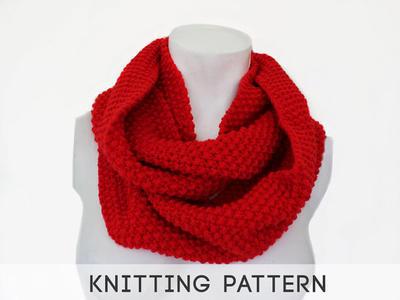PDF Knitting Pattern Scarf