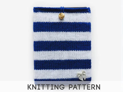 PDF Knitting Pattern Tablet Case