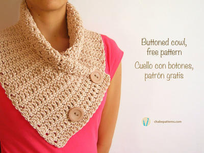 Buttoned cowl