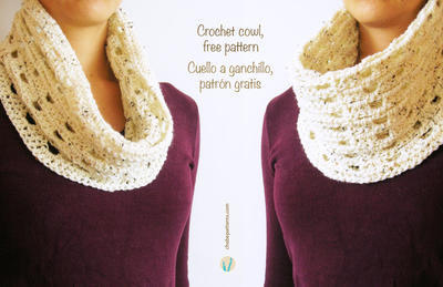Crochet basic cowl