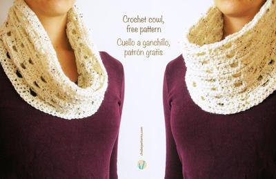 Crochet basic cowl