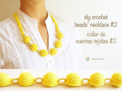 Crochet beads necklace #2