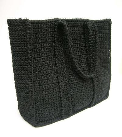 Crochet pattern for basic bag
