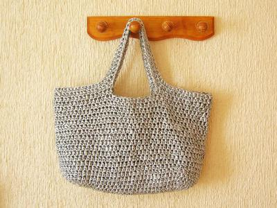 Crochet pattern for basic bag #3