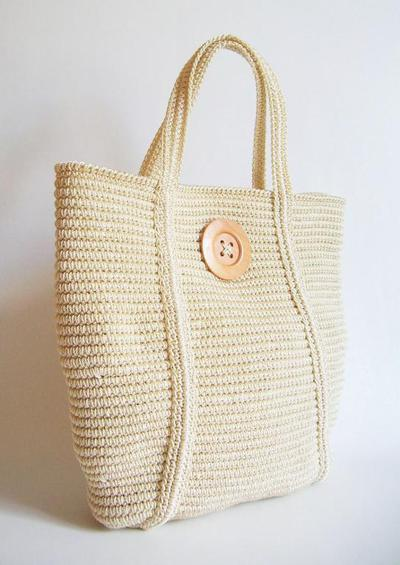 Crochet pattern for basic tote