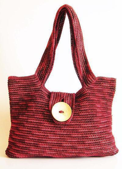 Crochet pattern for shoulder bag