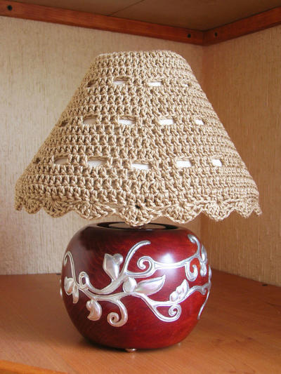 Lampshade cozy
