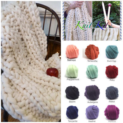 KNIT-KIT, Chunky Blanket