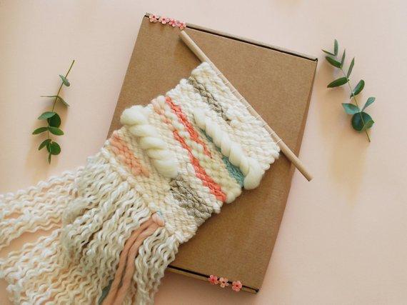 DIY - Weaving pastel kit for beginners