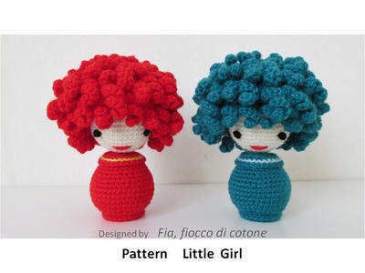 Pattern Little Girl