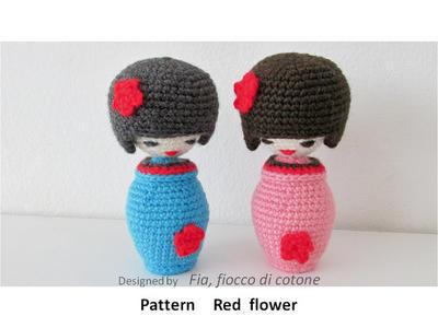 Amigurumi Kokeshi Doll Pattern : Patterns by cotton flake misterpattern