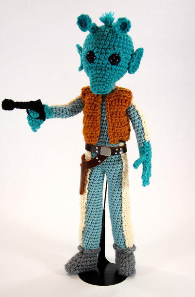 Greedo Star Wars Amigurumi