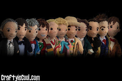 Mega Set of 14 - All 12 Doctors Who Time
