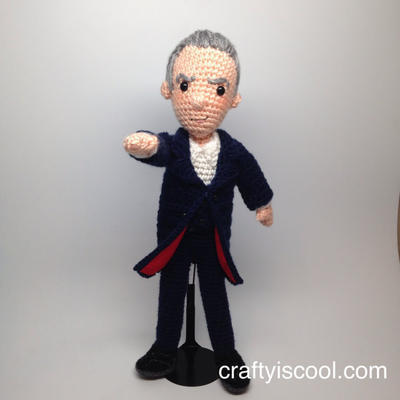 Twelfth Doctor Who Amigurumi Crochet Pattern