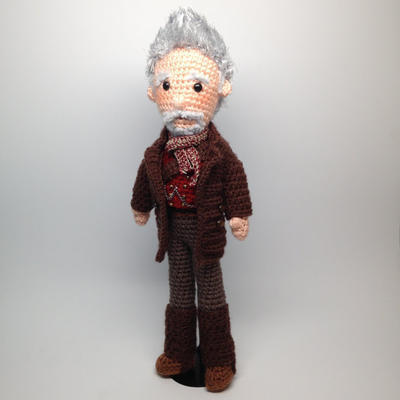 War Doctor Who Amigurumi Crochet Pattern
