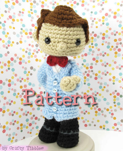 Bill Nye the Science Guy Crochet Amigurumi Pattern