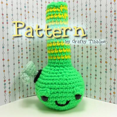 Bong Crochet Amigurumi Pattern