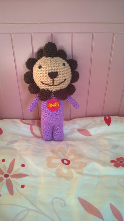 Lion amigurumi crochet doll/ plushie / kids toy