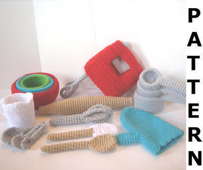 Baking Utensils Crochet Pattern