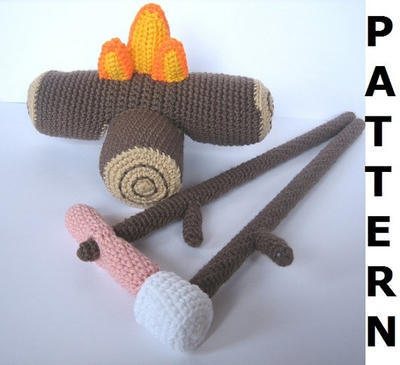 Camp Fire Crochet Pattern