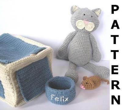 Pet Cat Crochet Pattern