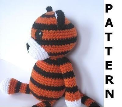 Tiger Crochet Pattern