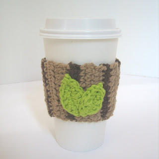 Wood Grain Cup Sleeve